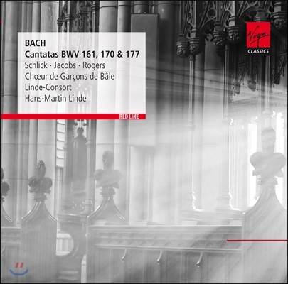 Rene Jacobs / Hans-Martin Linde 바흐: 칸타타 161, 170, 177번 (Bach: Cantatas BWV161, 170 & 177)