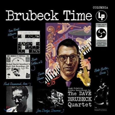 Dave Brubeck (데이브 브루벡) - Brubeck Time [LP]