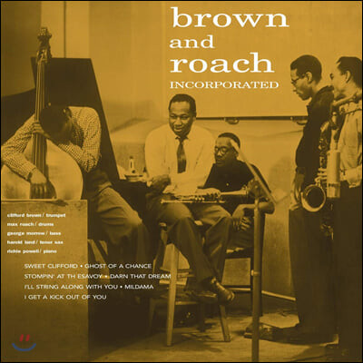 Clifford Brown & Max Roach (클리포드 브라운 앤 맥스 로치) - Brown And Roach Incorporated [LP]