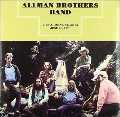 The Allman Brothers Band (올맨 브라더스 밴드) - Live at Omni, Atlanta June 2, 1973 [LP]