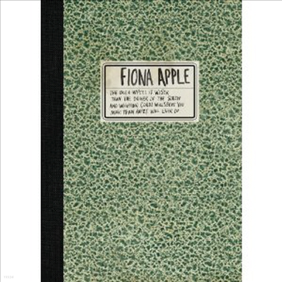 Fiona Apple - The Idler Wheel Is Wiser Than The Driver Of The Screw And Whipping Cords Will Serve You More Than Ropes Will Ever Do (Deluxe Edition)(CD+DVD)