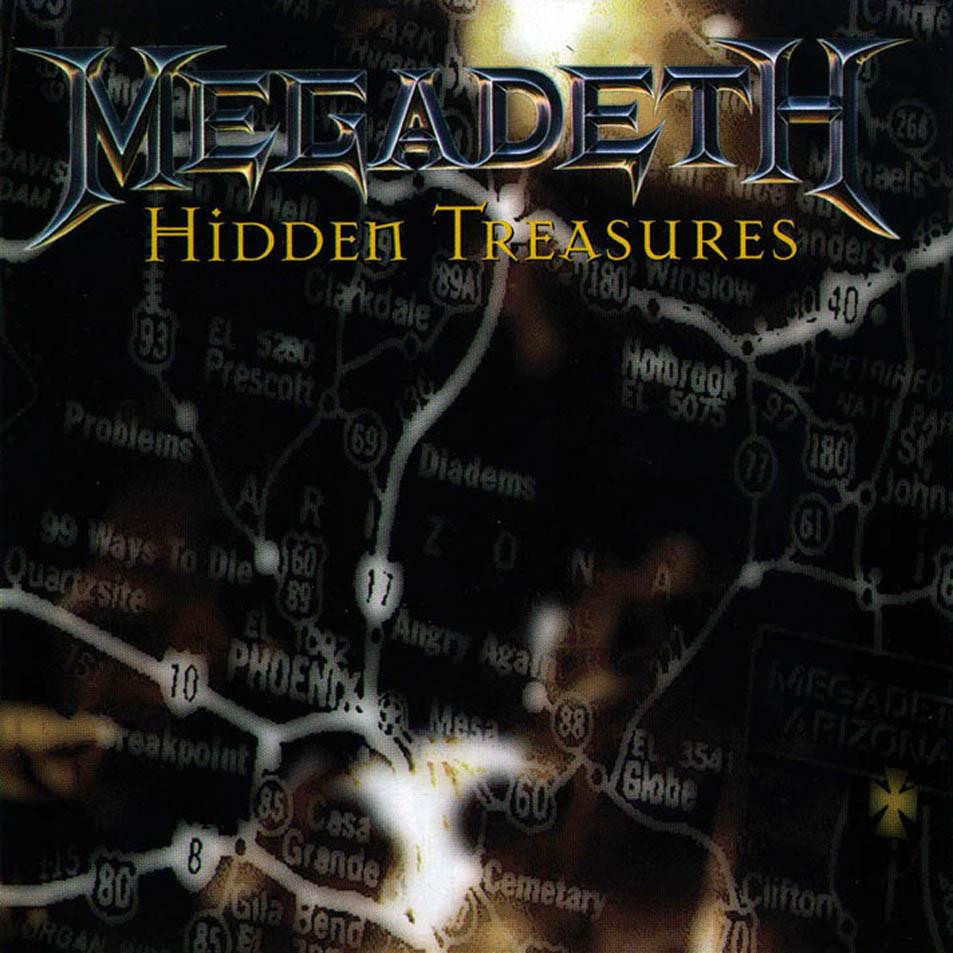 [수입] Megadeth - Hidden Treasures