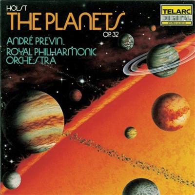 홀스트: 행성 (Holst: The Planets op.32)(CD) - Andre Previn