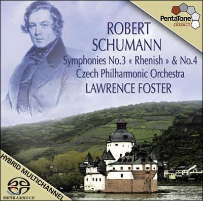 Lawrence Foster 슈만: 교향곡 1번 '봄', 2번 (Schumann: Symphonies Op.38 'Spring', Op.61)