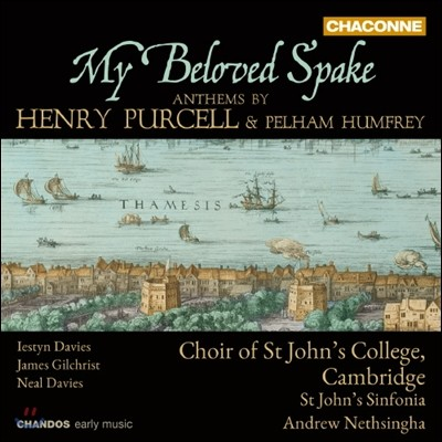 Choir of St John's College, Cambridge 퍼셀 / 험프리 성가집 (My Beloved Spake - Anthems by Henry Purcell & Pelham Humfrey)