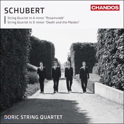 Doric String Quartet 슈베르트: 현악 사중주 `'로자문데`, `죽음과 소녀` (Schubert: String Quartets Nos. 13 & 14)