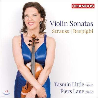 R. 슈트라우스 : 바이올린 소나타 OP.18 / 레스피기 : 바이올린 소나타 P 110