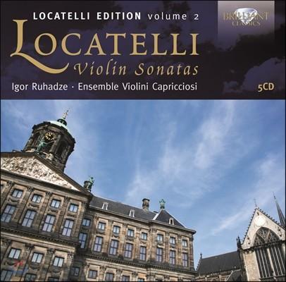 Igor Ruhadze 피에르트 로카텔리: 바이올린 소나타 (Locatelli Edition Volume 2: Violin Sonatas)