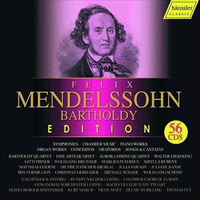 2019 한슬러 멘델스존 에디션 (Mendelssohn Bartholdy Edition 2019) (56CD Boxset) - 여러 아티스트