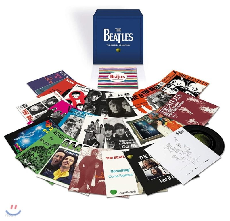 The Beatles (비틀즈) - The Singles Collection [7인치 23 Vinyl 박스세트]