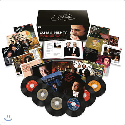 주빈 메타 컬럼비아 레코드 녹음 전집  (Zubin Mehta - The Complete Columbia Album Collection)