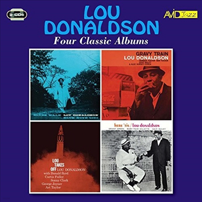 Lou Donaldson - Four Classic Albums (Remastered)(4 On 2CD)