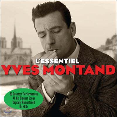 이브 몽탕 인기곡 모음집 (Yves Montand - L'Essentiel)