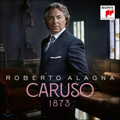 Roberto Alagna 로베르토 알라냐 테너 작품집 '카루소' (Caruso 1873) [2LP]