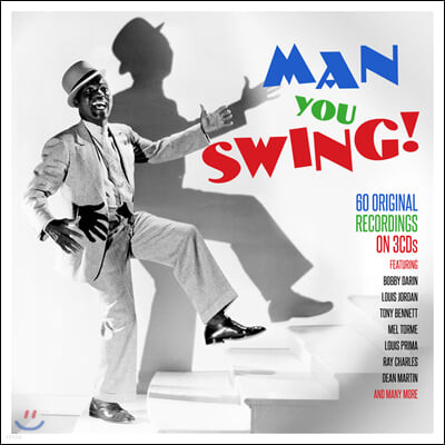 남성 가수들이 부르는 스윙 음악 모음집 (Man You Swing!)