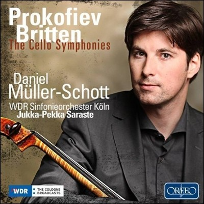 프로코피에프 & 브리튼 : 첼로 교향곡