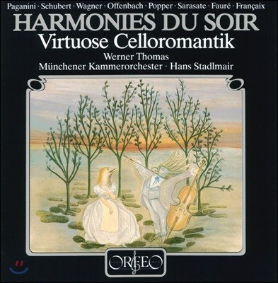 Werner Thomas-Mifune 저녁의 선율 - 로맨틱 첼로 소품집 (Harmonies Du Soir : Virtuose Celloromantik) [LP]
