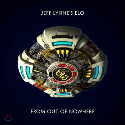 Jeff Lynne's E.L.O (제프 린스 일렉트릭 라이트 오케스트라) - 14집 From Out Of Nowhere [블루 컬러 LP]
