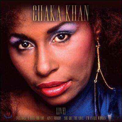 Chaka Khan (사카 칸) - Live [LP]