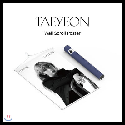 태연(TAEYEON) - 월 스크롤 포스터 [한정반]
