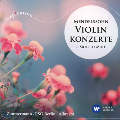 Frank Peter Zimmermann 멘델스존: 바이올린 협주곡 - 프랑크 페터 짐머만 (Mendelssohn: Violin Concerto)