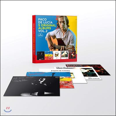 Paco De Lucia (파코 데 루치아) - 5 Original Albums Vol.2