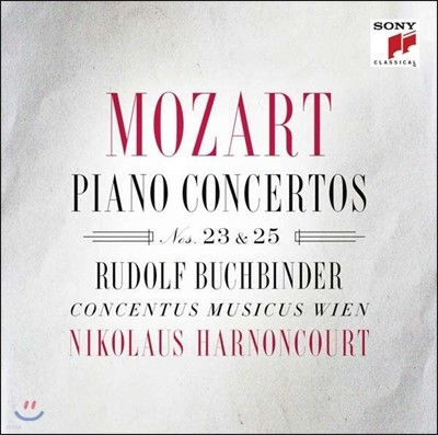 Rudolf Buchbinder 모차르트: 피아노 협주곡 23번 25번 - 루돌프 부흐빈더, 아르농쿠르