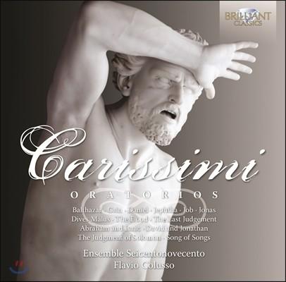 Flavio Colusso 카리시미: 오라토리오 전곡집 (Giacomo Carissimi: Oratorios)