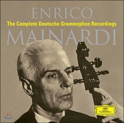 Enrico Mainardi 엔리코 마이나르디 DG 녹음 전집 (The Complete Deutsche Grammophon Recordings)