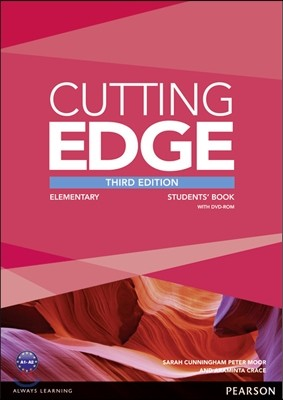 Cutting Edge 3/E : Elementary Student Book with DVD