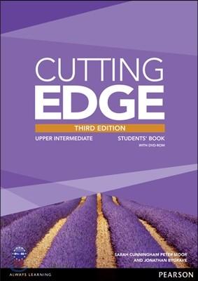 Cutting Edge 3/E : Upper-Intermediate Student Book with DVD