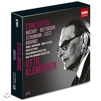 Otto Klemperer 협주곡 - 모차르트 / 베토벤 / 슈만 / 리스트 / 브람스 (Concertos) 오토 클렘페러