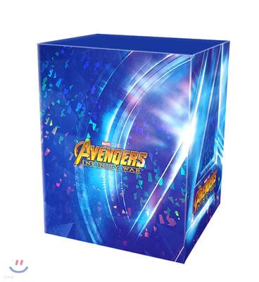 어벤져스: 인피니티워 (원클릭 박스 스틸북 한정판) : 블루레이
