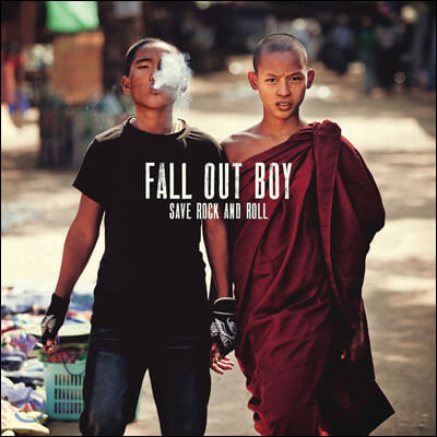 Fall Out Boy (폴 아웃 보이) - Save Rock And Roll 정규 5집 [10인치 2LP]