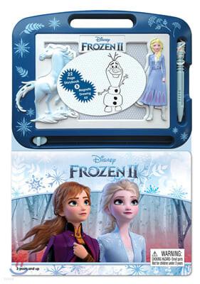 Disney Frozen 2 : Learning Series : 디즈니 겨울왕국 2 스토리북 + 미니 자석 칠판 세트