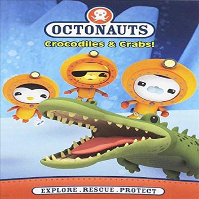 Octonauts : Crocodiles & Crabs (옥토넛)(지역코드1)(한글무자막)(DVD)