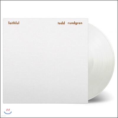 Todd Rundgren (토드 룬드그렌) - Faithful [화이트 컬러 LP]