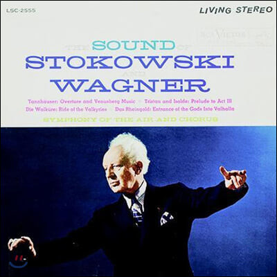 Leopold Stokowski 바그너: 오페라 작품집 (Wagner: Die Walkure, Tristan And Isolde, Das Rheingold, Tannhauser) [LP]
