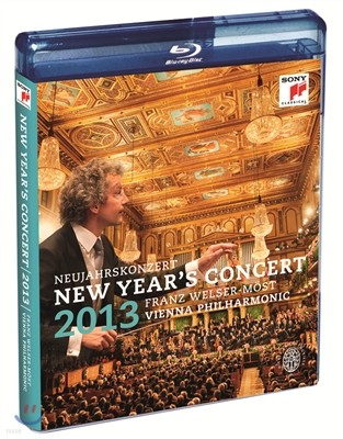 Franz Welser-Most 2013 빈 신년 음악회 (New Year's Concert 2013) Blu-ray