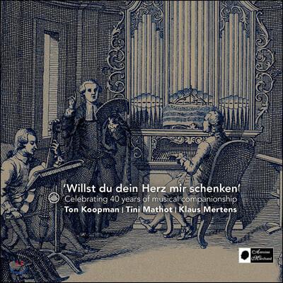 Ton Koopman 톤 코프만과 암스테르담 바로크 오케스트라 40주년 기념 베스트 음반 (Willst du dein Herz mir schenken)