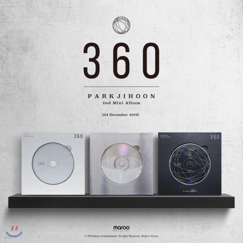 박지훈 - 미니앨범 2집 : 360 [360 Degrees ver.]