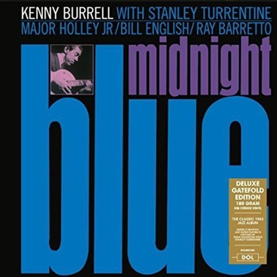 Kenny Burrell - Midnight Blue (Deluxe-Edition)(Gatefold Cover)(180G)(LP)