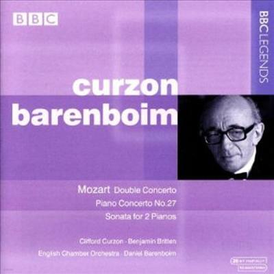 모차르트 : 피아노 협주곡 27번, 두 대의 피아노 협주곡, 두 대의 피아노 소나타 (Mozart : Piano Concerot No.27 K.595, 2 Piano Concerto K.365, 2 Piano Sonata K.448) - Clifford Curzon
