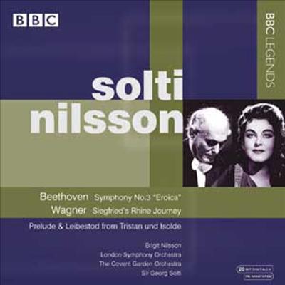 베토벤 : 교향곡 3번 '에로이카' & 바그너 : 신들의 황혼 '지그프리트의 라인 여행' (Beethoven : Symphony No.3) - Georg Solti