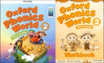 Oxford Phonics World 2 : Student Book + Workbook + 음원 다운로드