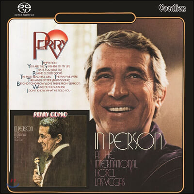 Perry Como (페리 코모) - Perry & In Person at the International Hotel Las Vegas