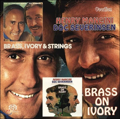 Henry Mancini, Doc Severinsen (헨리 맨시니, 닥 세버린센) - Brass, Ivory and Strings & Brass on Ivory (Original Analog Remastered)