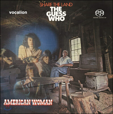 The Guess Who (더 게스 후) - American Woman & Share the Land (Original Analog Remastered)
