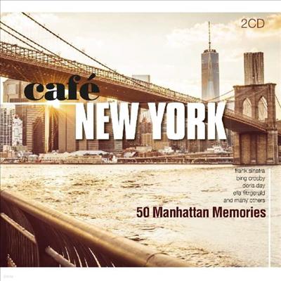 Various Artists - Cafe New York: 50 Manhattan Memories (2CD)