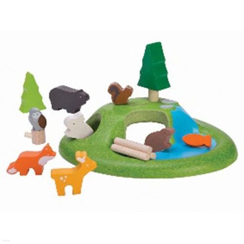 플랜토이 유아교구 동물의숲세트